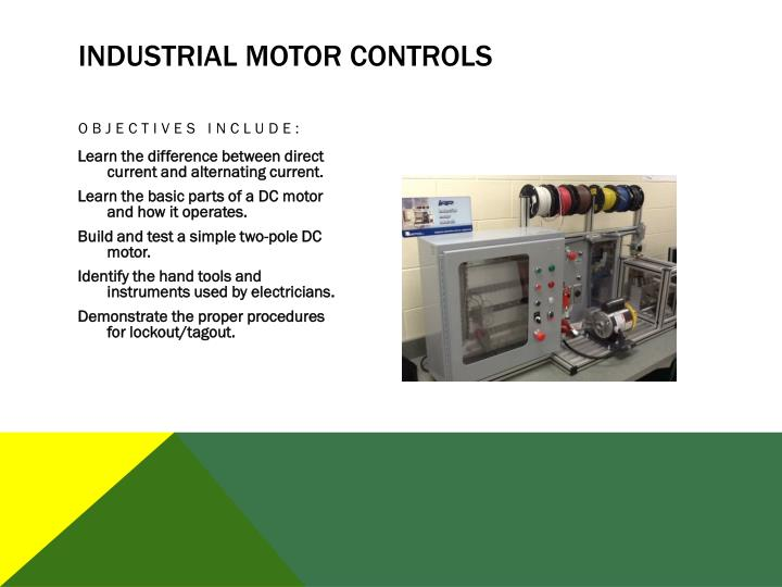 Industrial Motor Controls