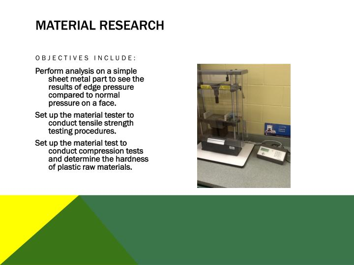 Material Research