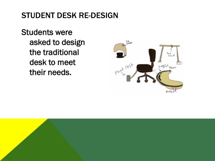 Student Desk Re-Design
