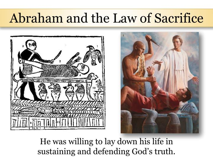 Abraham and the Law of Sacrifice