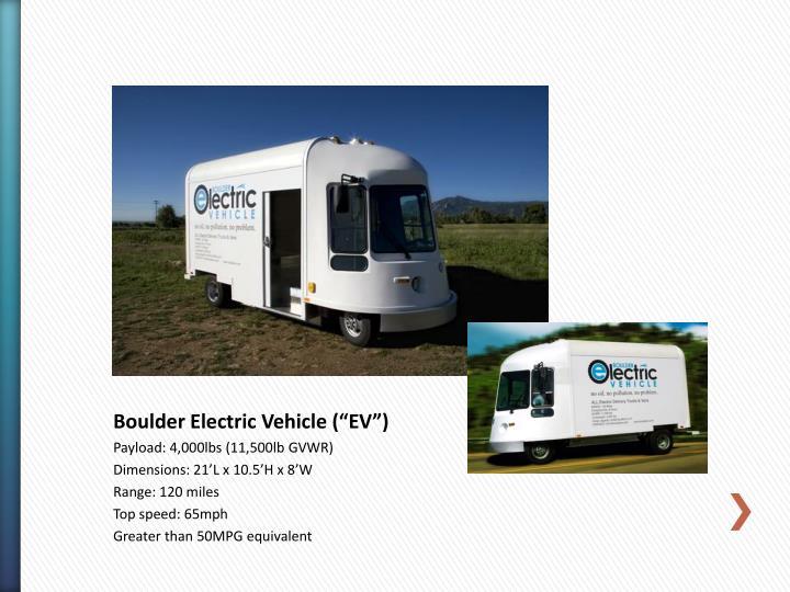 Boulder Electric