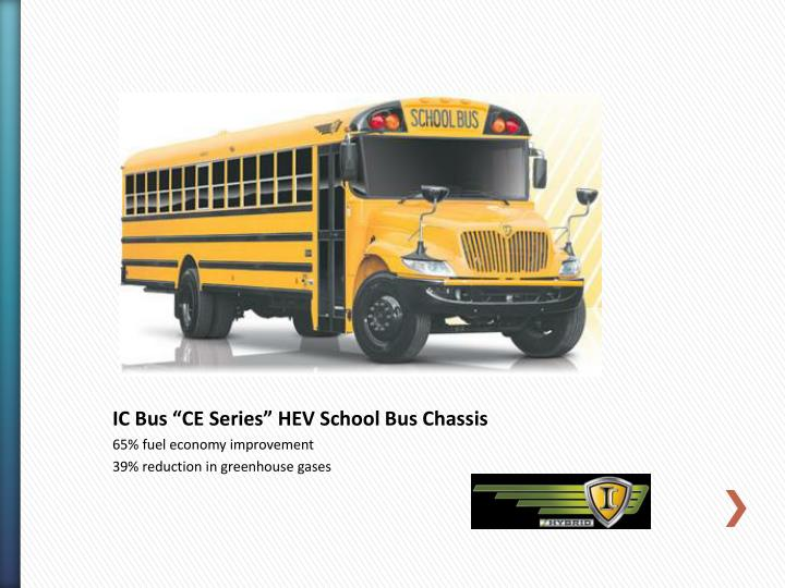 "IC Bus ""CE Series"""