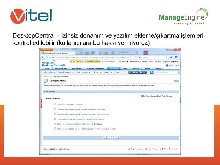 DesktopCentral –