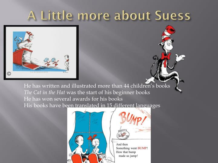 A little more about suess