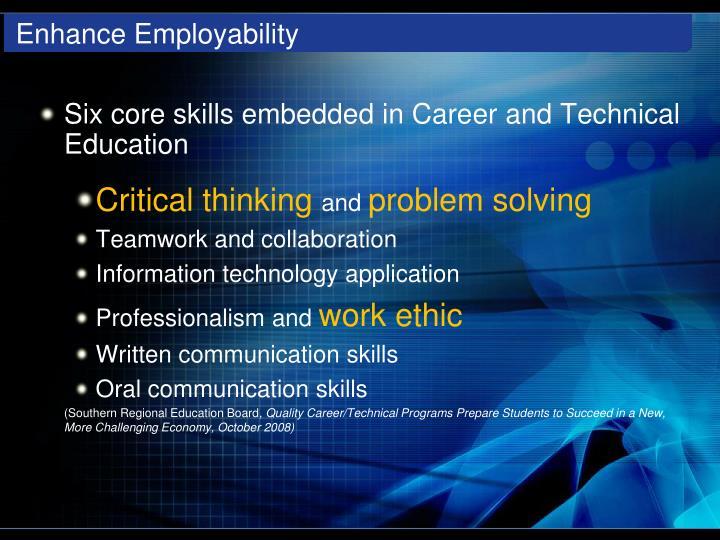 Enhance Employability