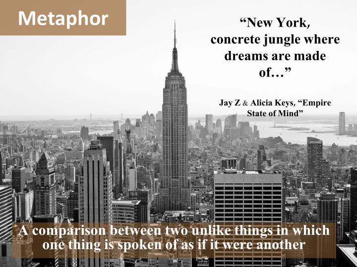 """New York,"
