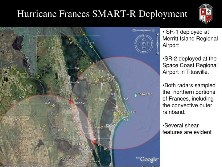 Hurricane Frances SMART-R Deployment