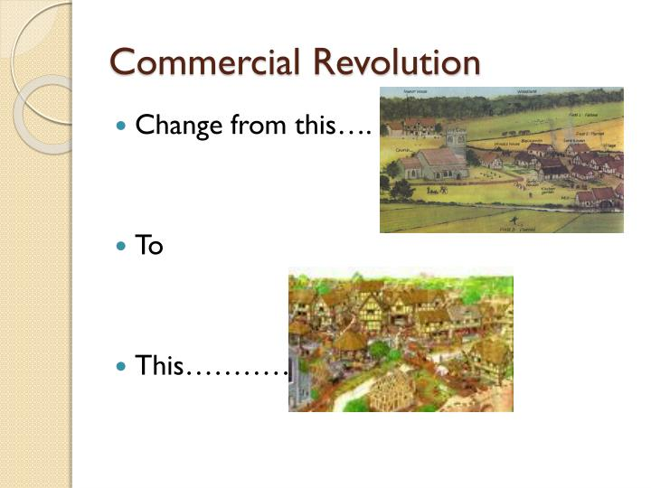 Commercial revolution1