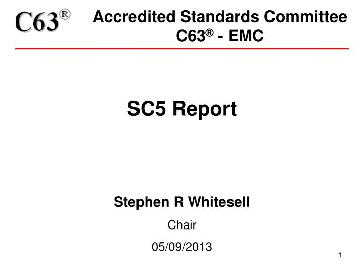 Accredited Standards Committee