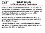 c63 24 generic in situ immunity evaluation