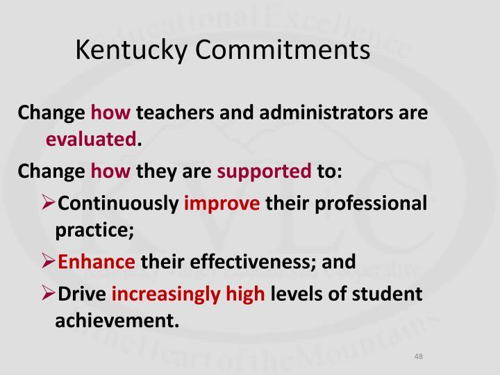 Kentucky Commitments