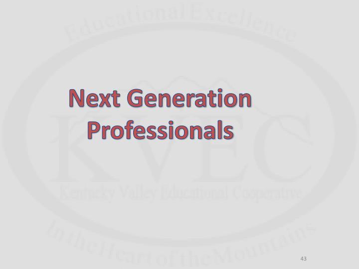 Next Generation Professionals