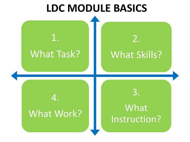 LDC MODULE BASICS