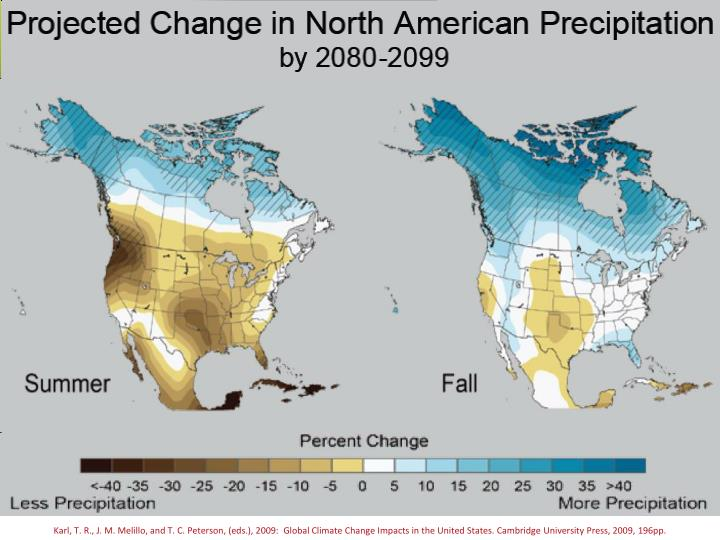 Karl, T. R., J. M. Melillo, and T. C. Peterson, (eds.), 2009:  Global Climate Change Impacts in the United States. Cambridge University Press, 2009, 196pp.