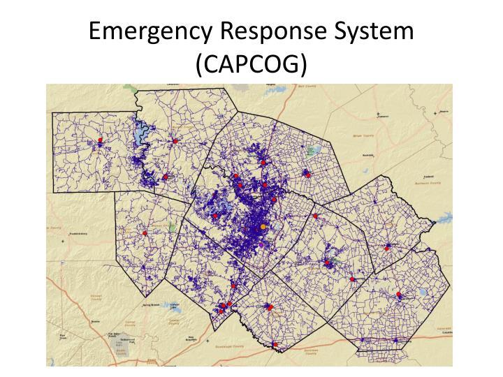 Emergency Response System (CAPCOG)