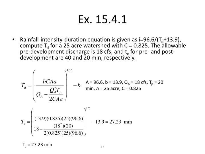 Ex. 15.4.1
