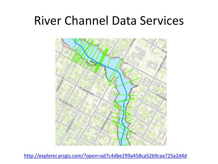 River Channel Data Services