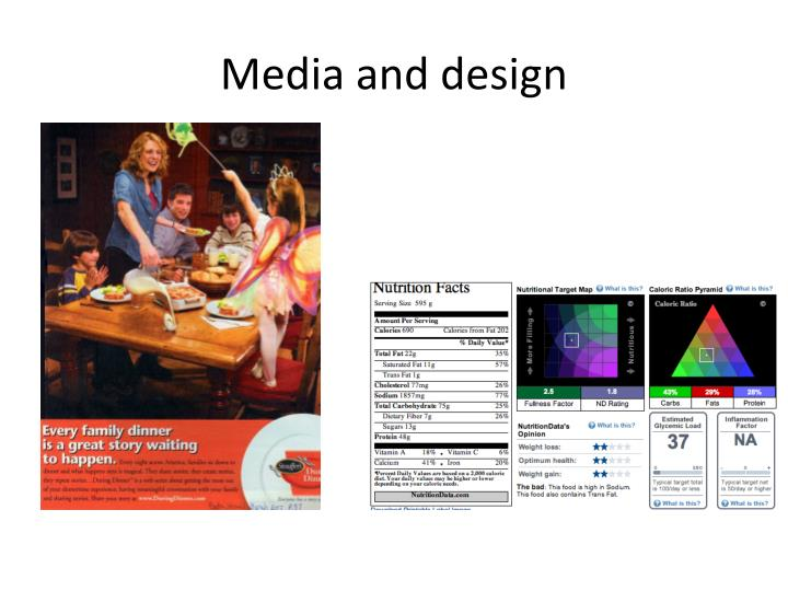 Media and design