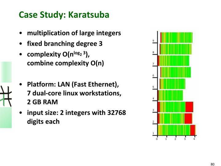 Case Study: Karatsuba