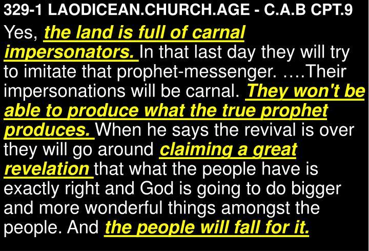 329-1 LAODICEAN.CHURCH.AGE