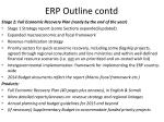 erp outline contd