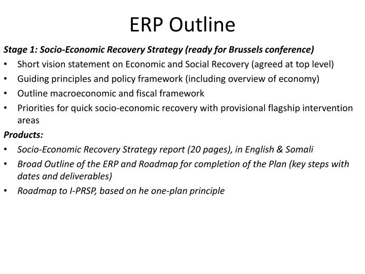 ERP Outline