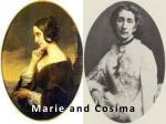 marie and cosima