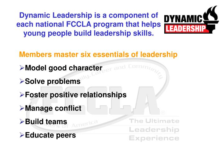 Dynamic Leadership is a