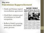 may 2011 palestinian rapprochement