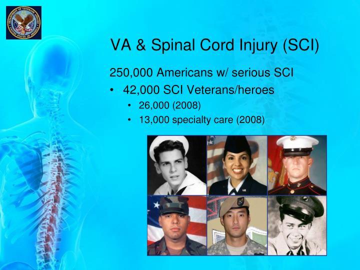 VA & Spinal Cord Injury (SCI)