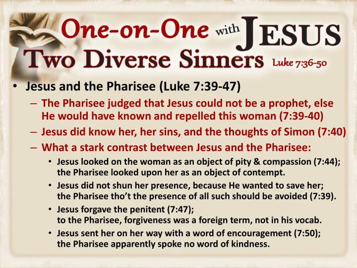 Jesus and the Pharisee (Luke 7:39-47)