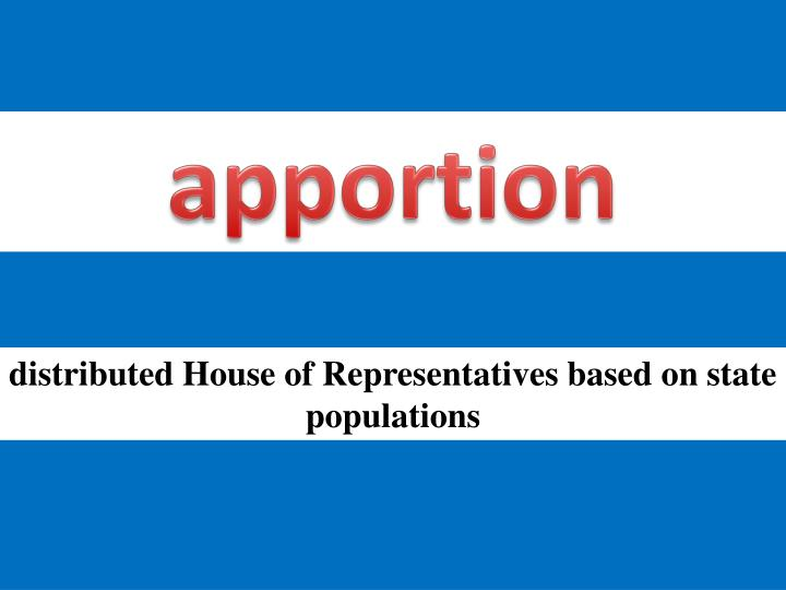 apportion
