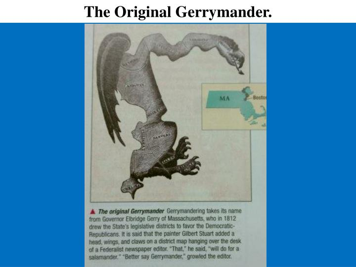 The Original Gerrymander.