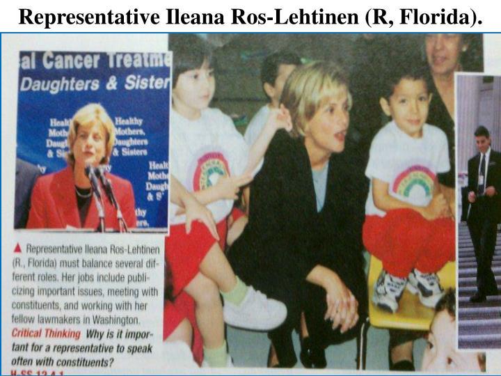 Representative Ileana Ros