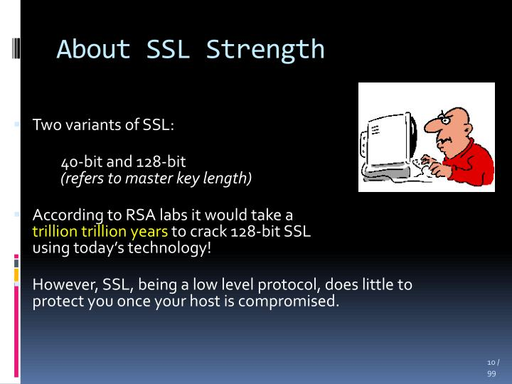About SSL Strength