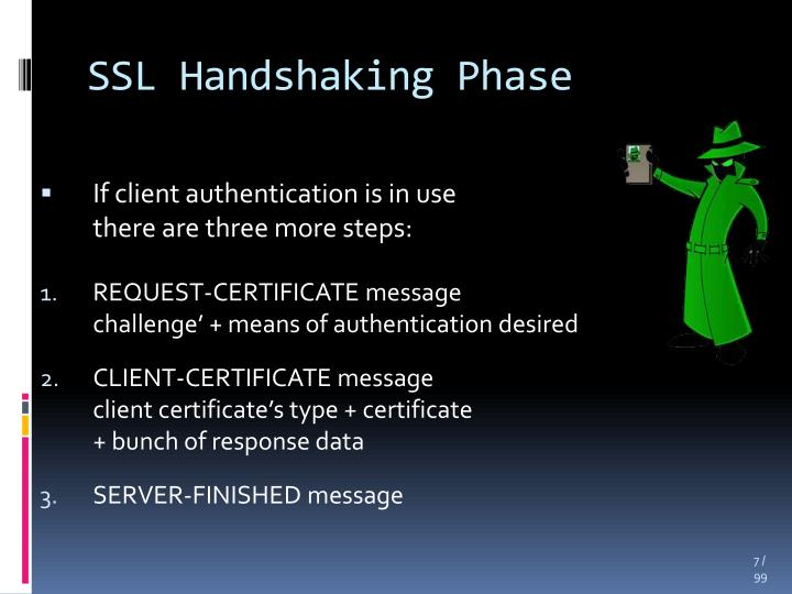 SSL Handshaking Phase
