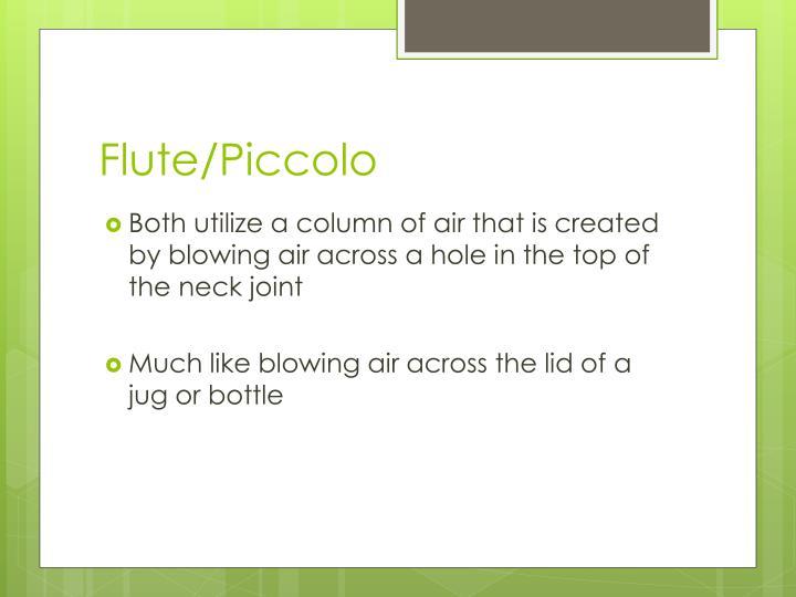 Flute/Piccolo