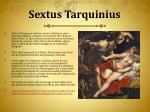 sextus tarquinius