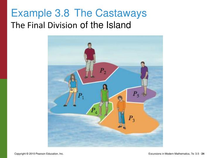 Example 3.8The Castaways