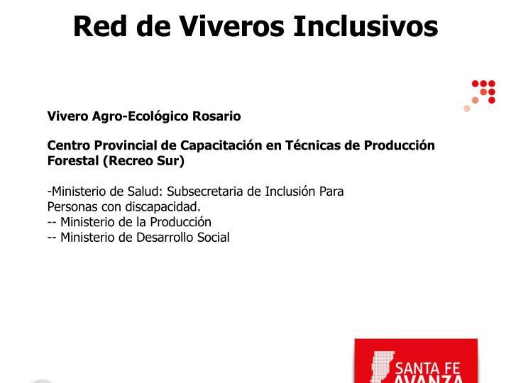 Red de Viveros Inclusivos