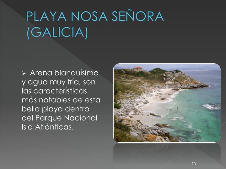 PLAYA NOSA SEÑORA (GALICIA)