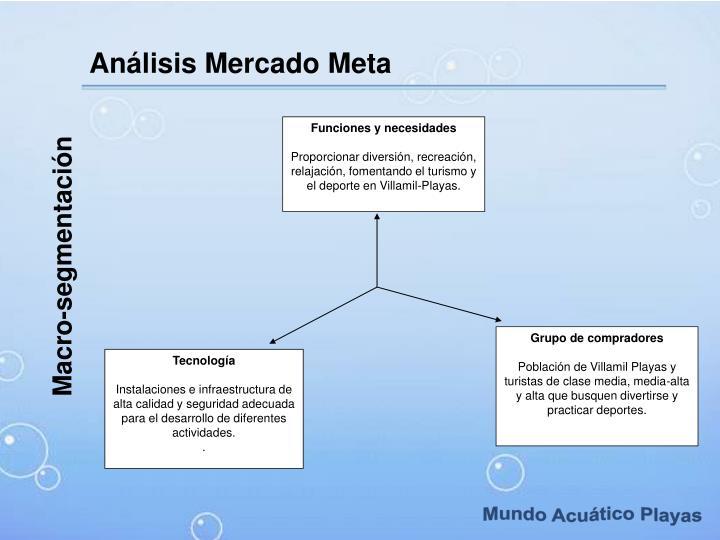 Análisis Mercado Meta