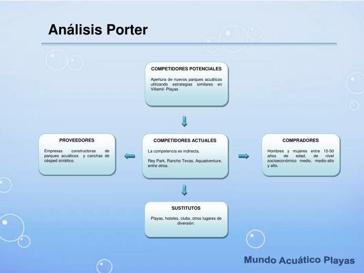 Análisis Porter