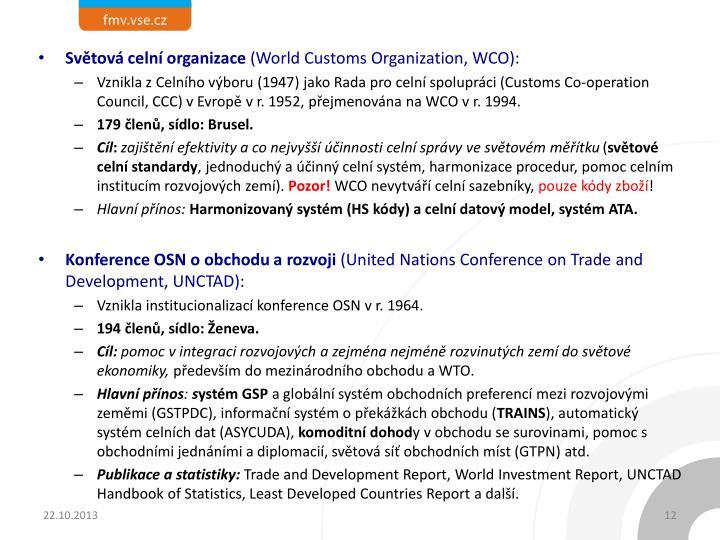 Světová celní organizace