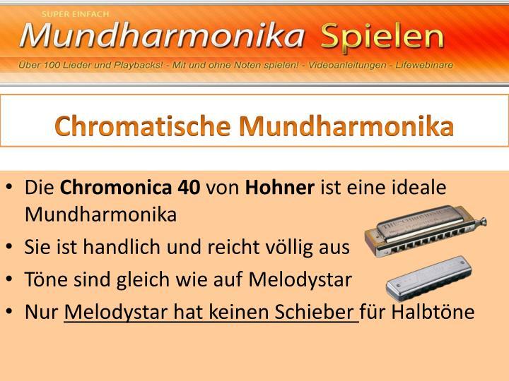 Chromatische Mundharmonika
