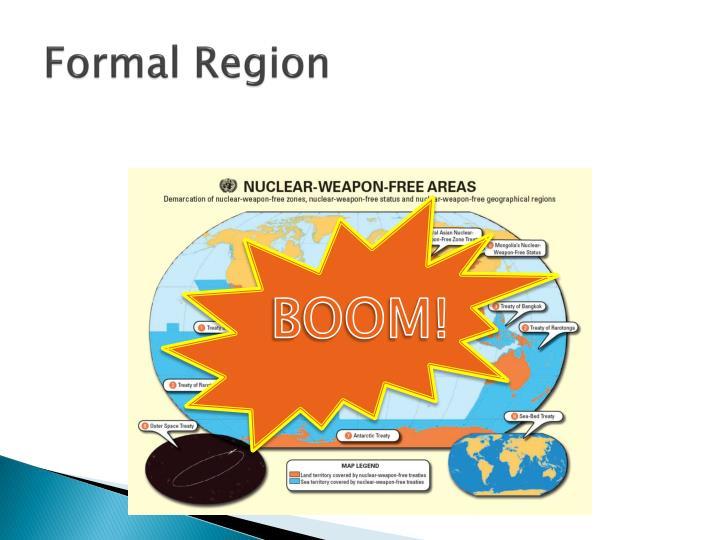 Formal Region