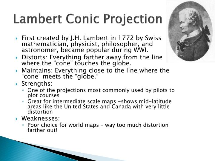 Lambert Conic Projection