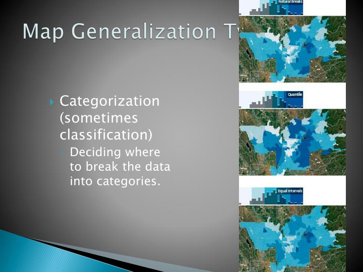 Map Generalization Type 4