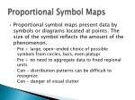 proportional symbol maps