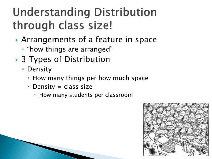 Understanding Distribution through class size!